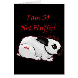 I Am SO Not Fluffy! (bunny) Card
