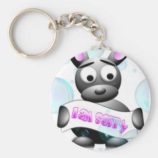 I Am Sorry Keychain
