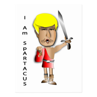 I Am Spartacus Postcard