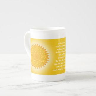 """I am"" spring Tea Cup"