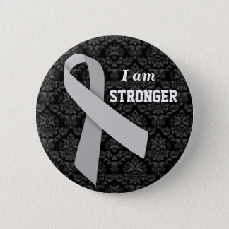 I am Stronger than MS 2 Inch Round Button