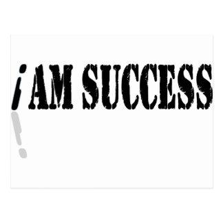 I Am Success Post Card