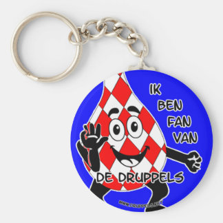 I am SUPPORTER of the drops - key-ring Keychain