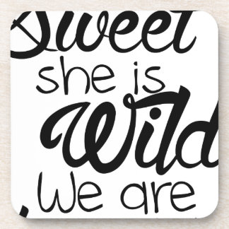 i am SWEET she is WILD .. we are DANGEROUS Coaster