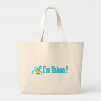 I Am Taken Honeymoon Tote Bag