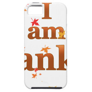 i am thankful case for the iPhone 5