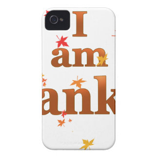 i am thankful iPhone 4 Case-Mate cases