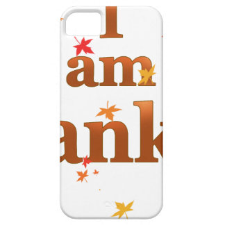 i am thankful iPhone 5 cases