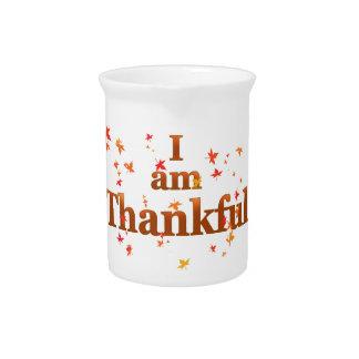 i am thankful pitcher