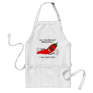 I Am That Hot Chile Pepper Apron