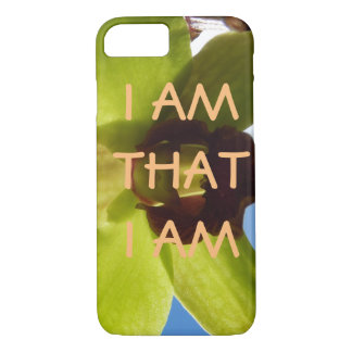 I AM THAT I AM  empowered iris cell phone case