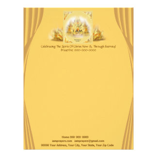 I Am That I AM Personalized Letterhead