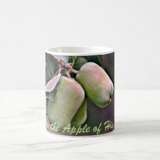 """I Am the Apple of His Eye"" Coffee Mug"