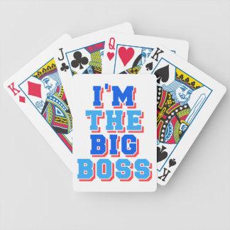 I am the Big boss Poker Deck