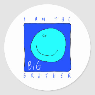 I Am The Big Brother Sticker