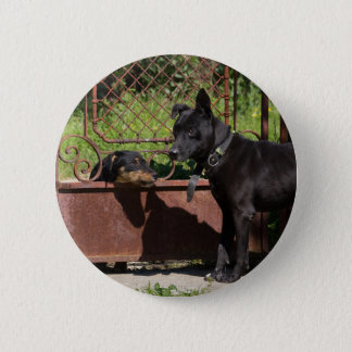 I am the boss 2 inch round button