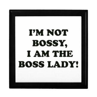 I Am The Boss Lady Gift Box