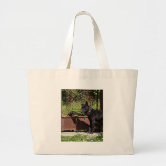 I am the boss large tote bag