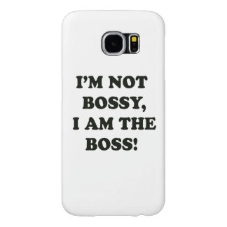 I Am The Boss Samsung Galaxy S6 Cases