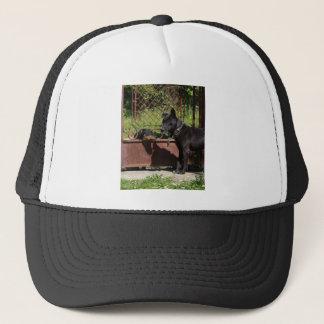 I am the boss trucker hat