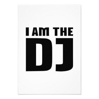 I am the DJ Invitations