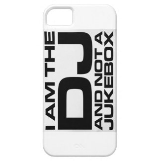 I Am The Dj & Not A Jukebox iPhone 5 Case