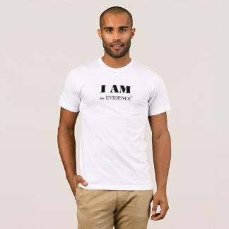 I am the Evidence (tm) Male Tee