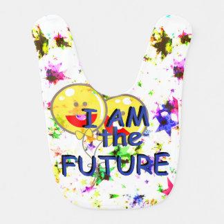 I Am the Future Baby Series Bib