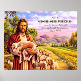 I am the Good Shepherd. Jesus Painting Art Prints