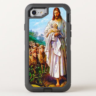 I Am the Good Shepherd John 10:7-21 OtterBox Defender iPhone 8/7 Case