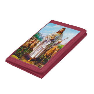 I Am the Good Shepherd John 10:7-21 Trifold Wallet