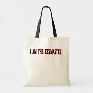 I am The Keymaster! Canvas Bags