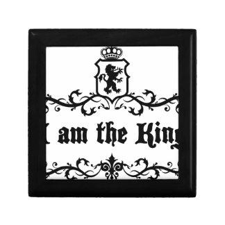 I am The King Keepsake Box
