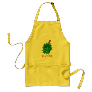 I Am The King of Fruits Durian Kawaii Manga Standard Apron