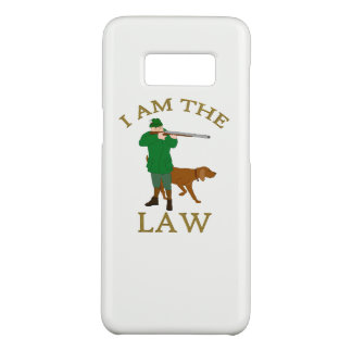 I am the law with a farmer with a gun Case-Mate samsung galaxy s8 case