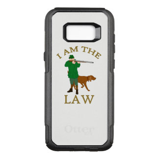 I am the law with a farmer with a gun OtterBox commuter samsung galaxy s8+ case