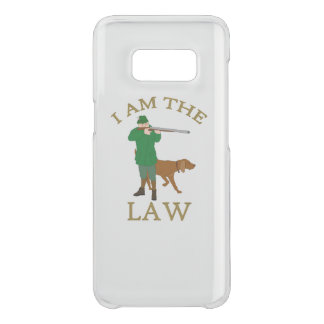 I am the law with a farmer with a gun uncommon samsung galaxy s8 case