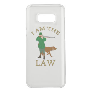 I am the law with a farmer with a gun uncommon samsung galaxy s8 plus case