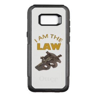 I am the law with a m4a1 machine gun OtterBox commuter samsung galaxy s8+ case