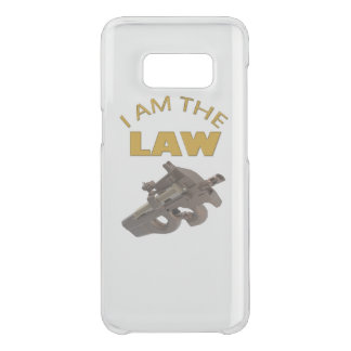 I am the law with a m4a1 machine gun uncommon samsung galaxy s8 case