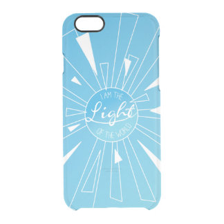 I Am The Light Clear iPhone 6/6S Case