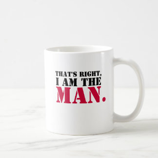 I am the Man mug