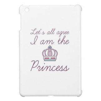 I Am The Princess iPad Mini Cover