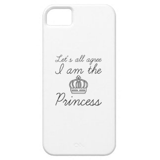 I Am The Princess iPhone 5 Cases