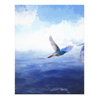 I am the sky custom letterhead