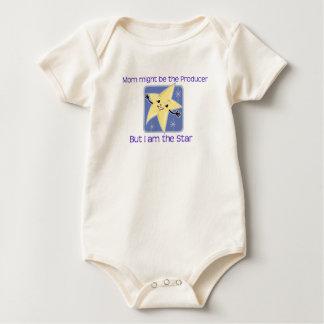 I Am The Star Baby Baby Bodysuit
