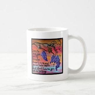 I am the Vine John 15 5 Coffee Mug
