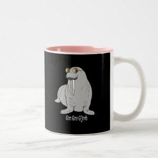 I am the Walrus Two-Tone Coffee Mug