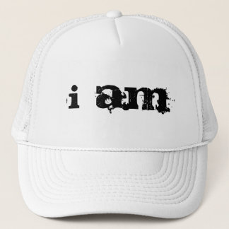 I AM TRUCKER HAT