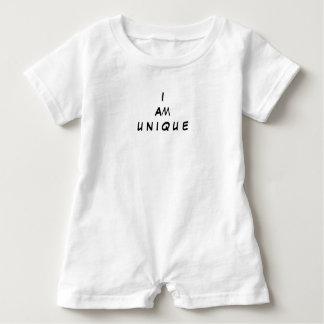 I am unique baby romper